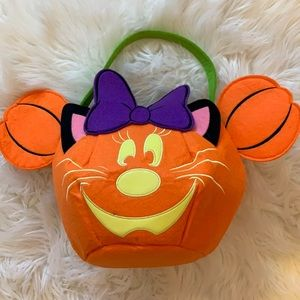 NWOT Minnie Mouse Trick or Treat Bag
